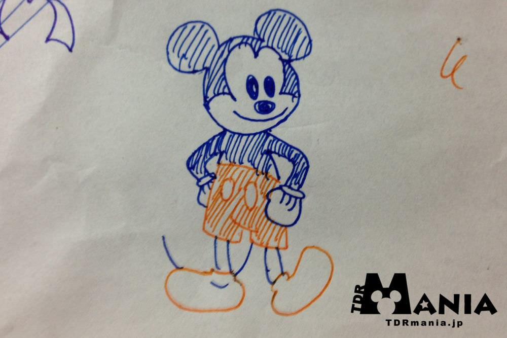 ボールペンで描く 簡単 ディズニーキャラクター ディズニーリゾートまにあ