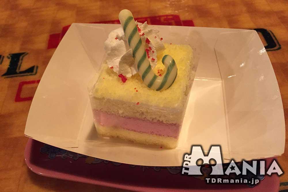 カシスムースケーキ