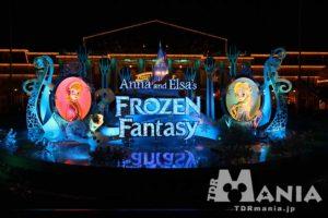 ディズニーランドで開催中のアナとエルサのフローズンファンタジー