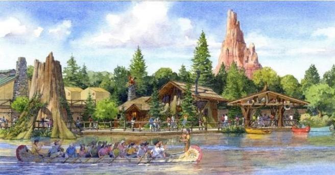 ウッドチャック・グリーティングトレイル (c)Disney
