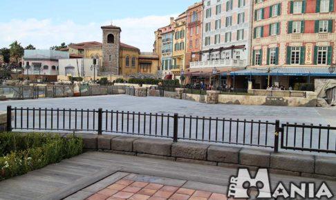 拡張されたミッキー広場