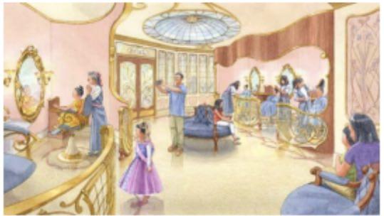 新しいビビディ・バビディ・ブティック(イメージ) (c)Disney