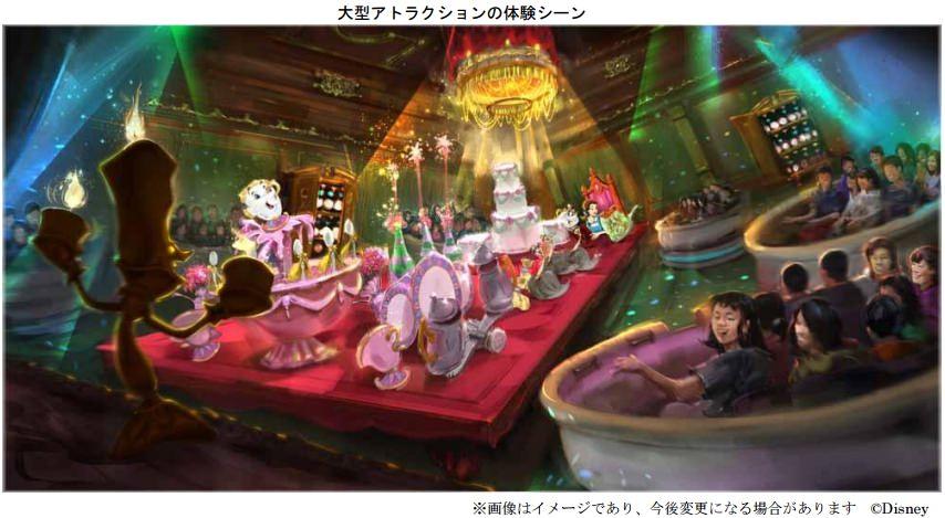 アトラクションの体験シーン (c)Disney