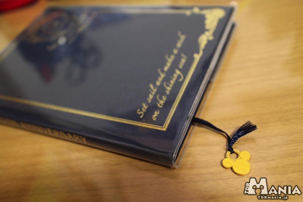 スケジュール帳 ミッキー形のスピン