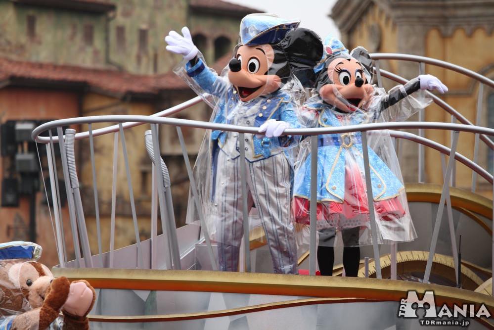 キャングリに登場するミッキーとミニー