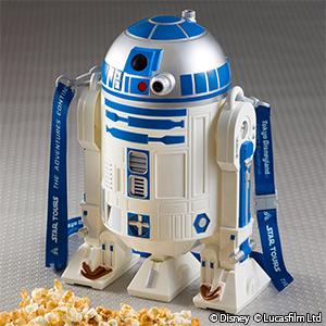 R2-D2のポップコーンバケット (c)Disney