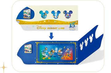 ピンバッジ台紙 (c)Disney