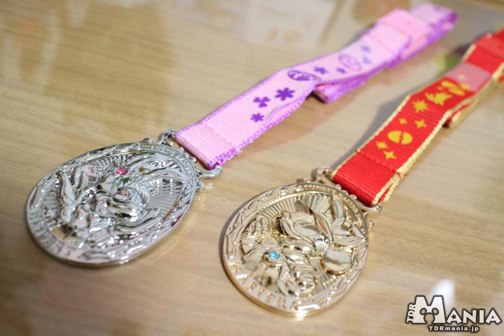 エキスパートメダルとマスターメダル