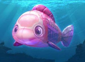 ストーリーに登場する潜水艦 (c)Disney