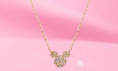 ダイヤモンドネックレス (c)Disney