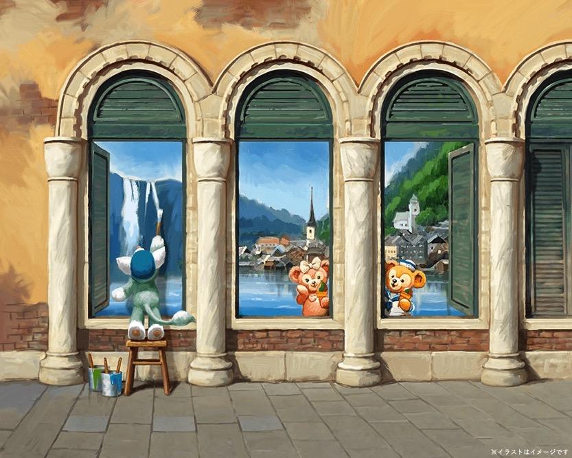 パラッツォ・カナルに登場するアート (c)Disney