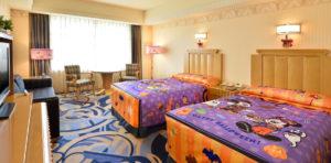 アンバサダーホテルの特別客室 (c)Disney