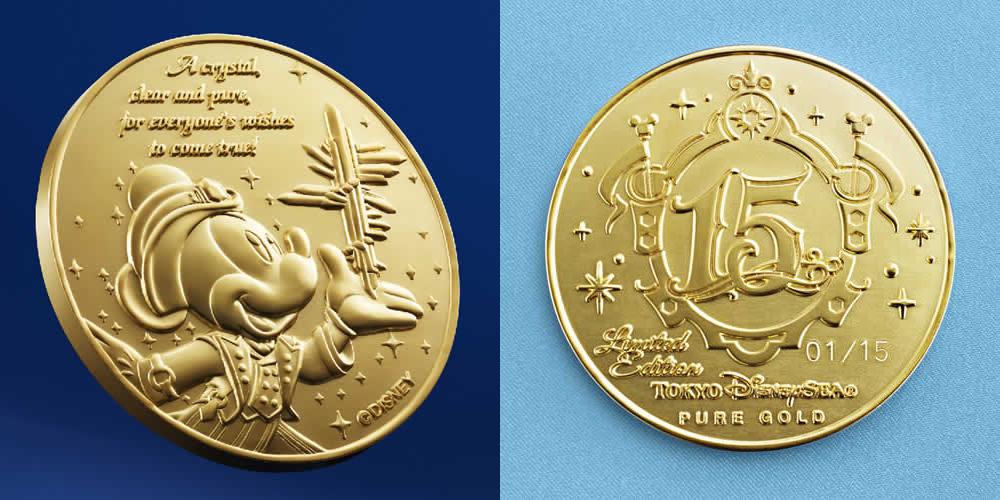 純金製メダル