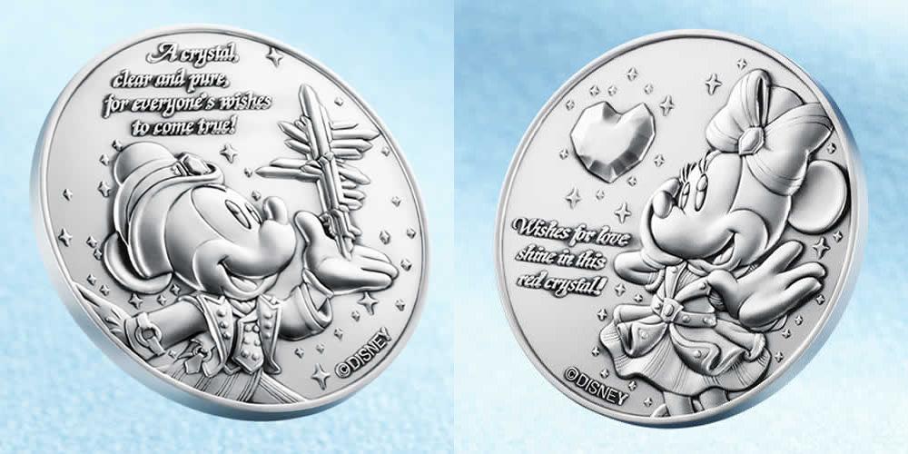 純金製メダルセット (c)Disney