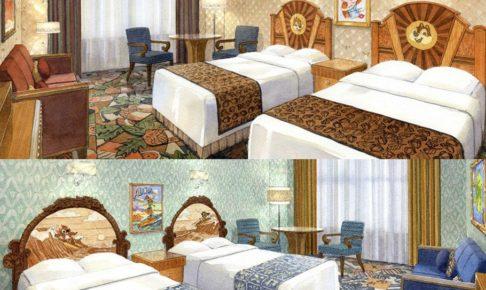 2017年2月より新設される2つのキャラクタールーム (c)Disney
