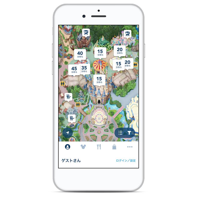 東京ディズニーリゾート®・アプリ
