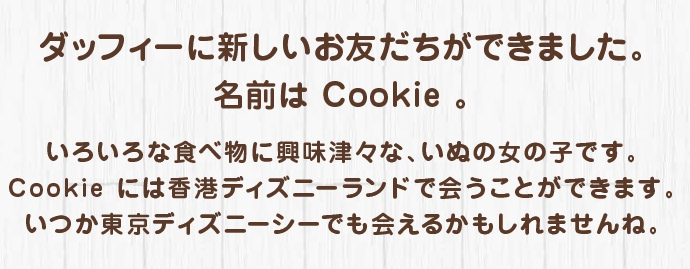 cookie ディズニーシー