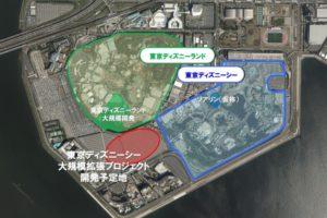 東京ディズニーシー 大規模開発プロジェクト