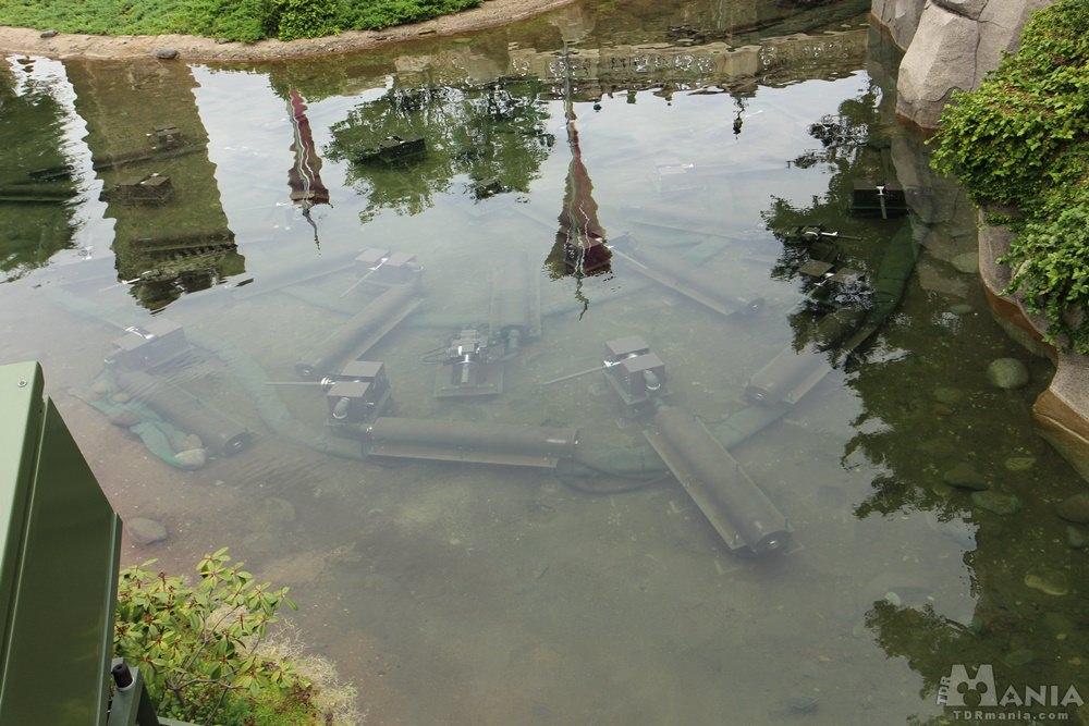シンデレラ城 噴水装置