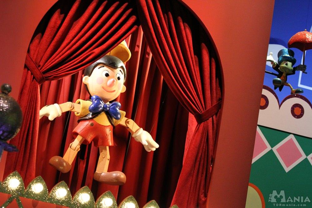 イッツ・ア・スモールワールドリニューアルで登場したピノキオ