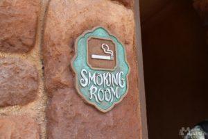 東京ディズニーリゾートの喫煙所