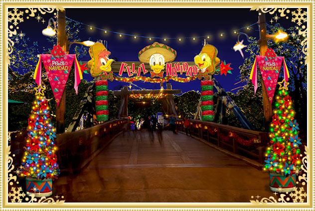 ロストリバーデルタのクリスマスデコレーション