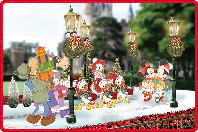 TDL プラザ クリスマス フォトロケーション