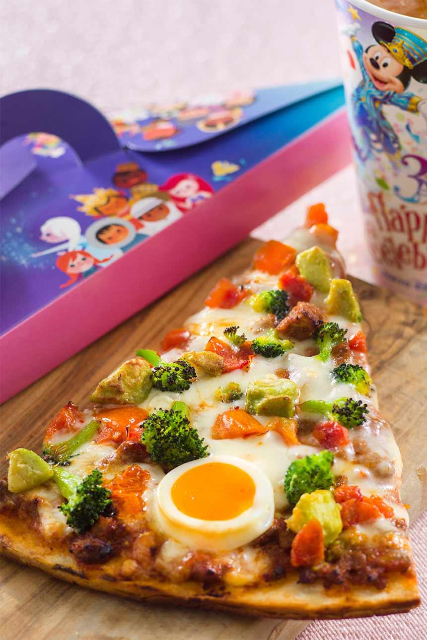 ピッツァ・スモールワールド第4弾「ビーフ&アボカドのピザ」