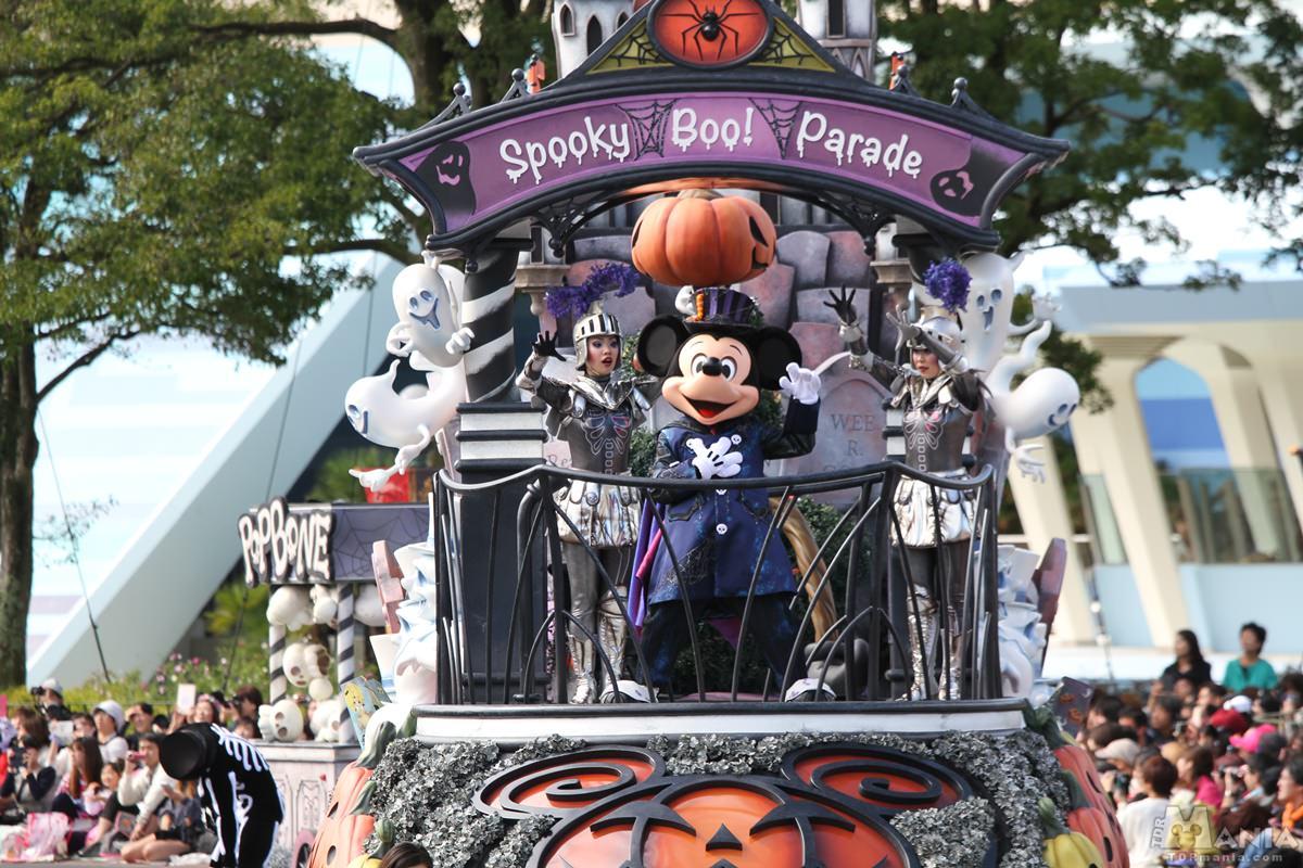 """スプーキー""""Boo!""""パレード"""