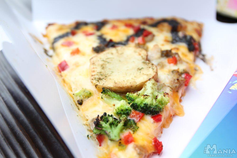 ピッツァ・スモールワールド第3弾「チキン&ベジタブルのピザ」