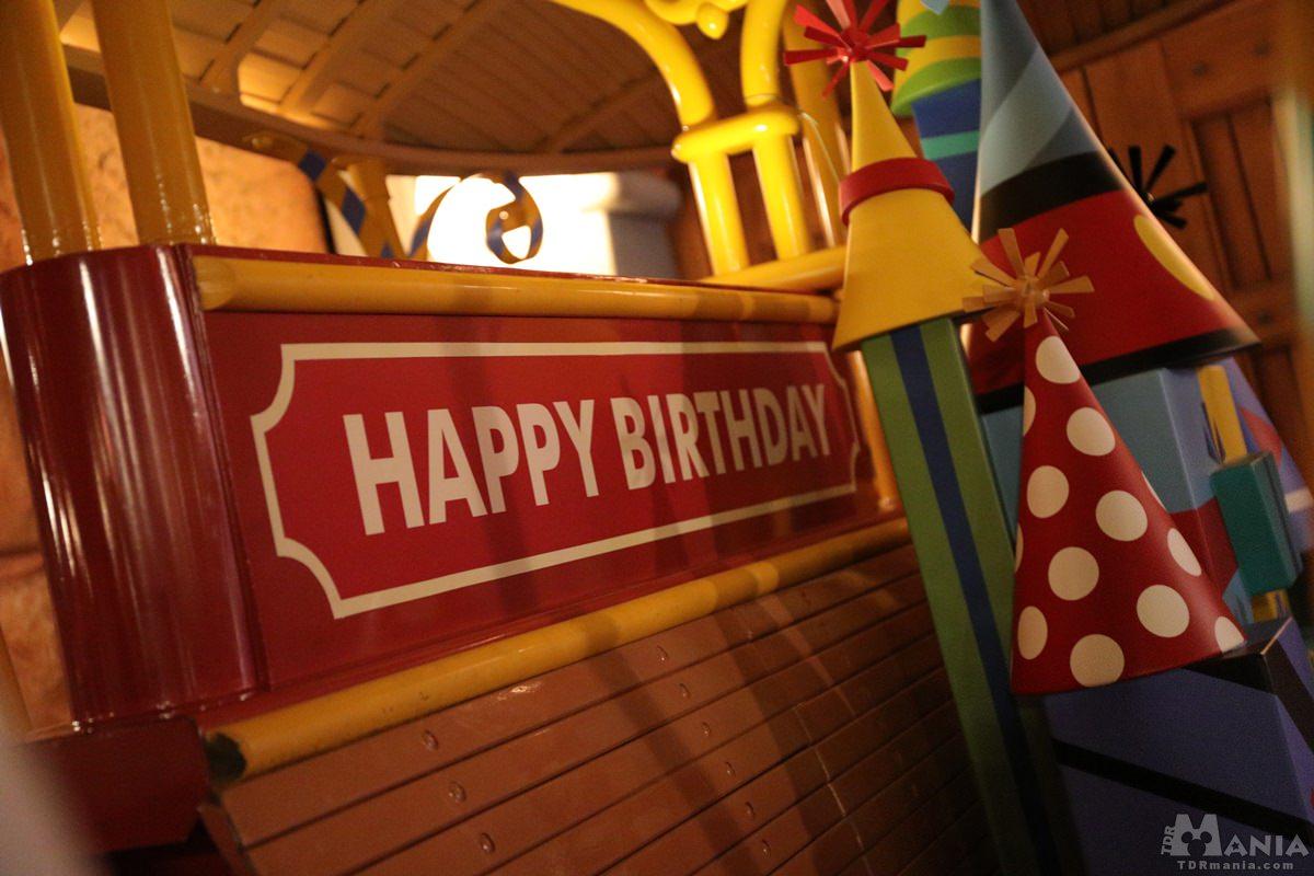 ミッキー 誕生日 フォトロケーション ジョリートロリー