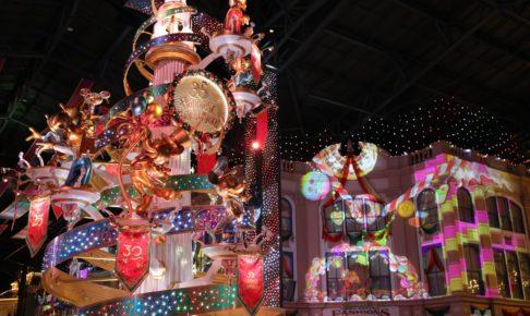 クリスマスのセレブレーションストリート