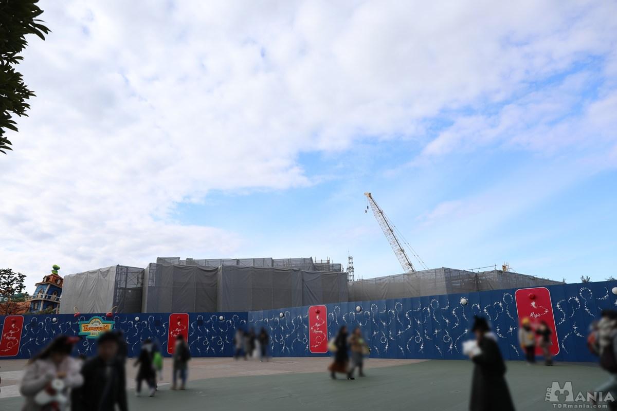 新ファンタジーランド 工事