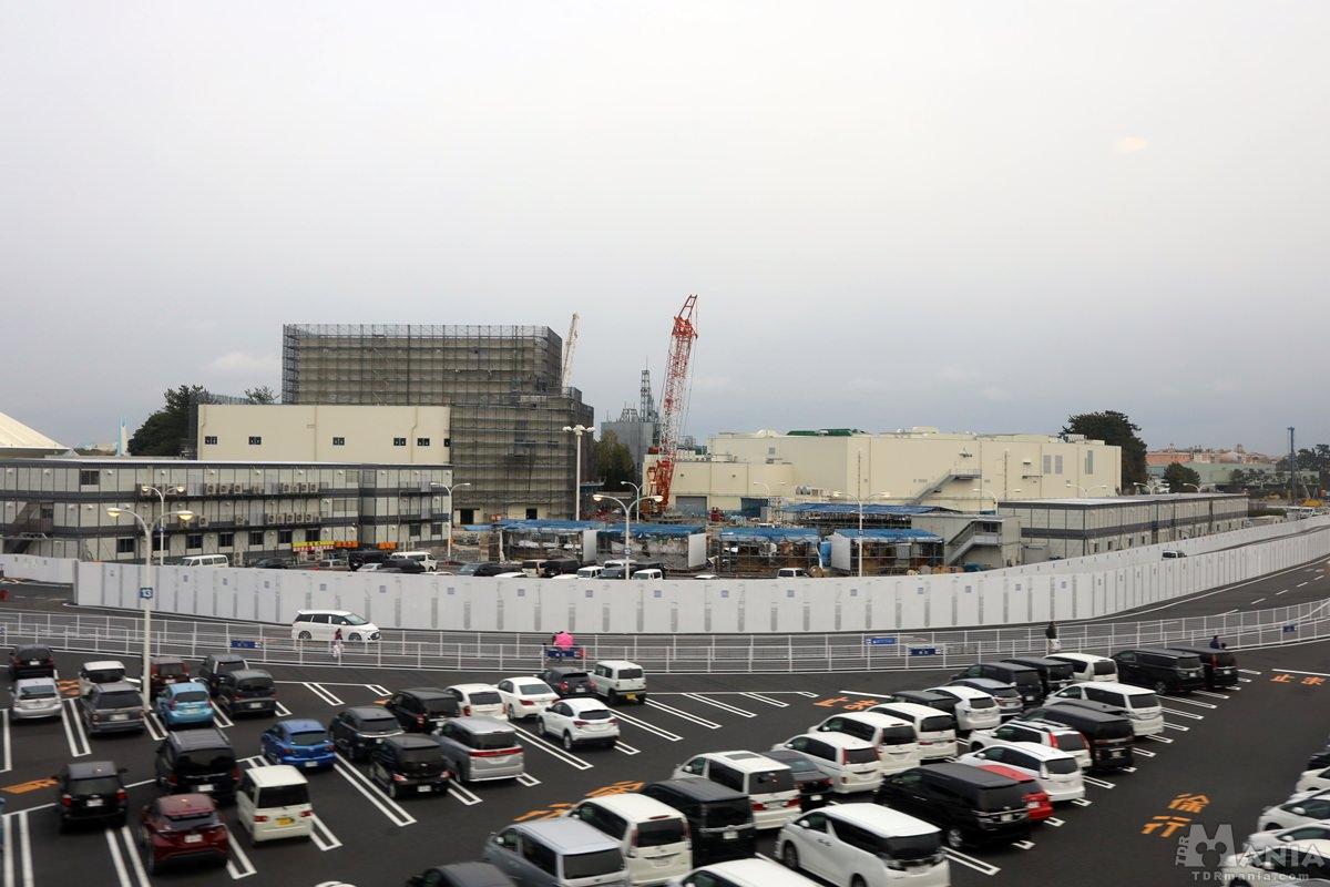 建設中 TDL 新エリア