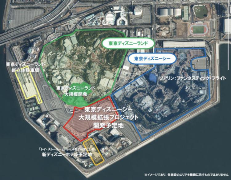 東京ディズニーリゾート 再開発