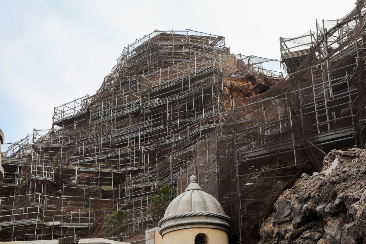 プロメテウス火山 改修工事
