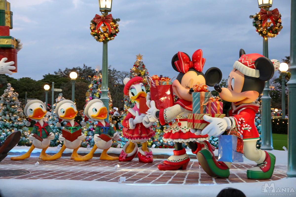 ディズニー・クリスマス フォトロケーション
