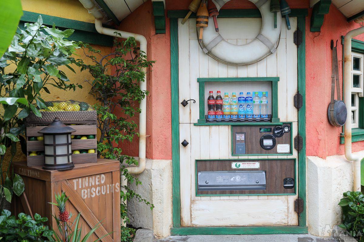アドベンチャーランド 自動販売機