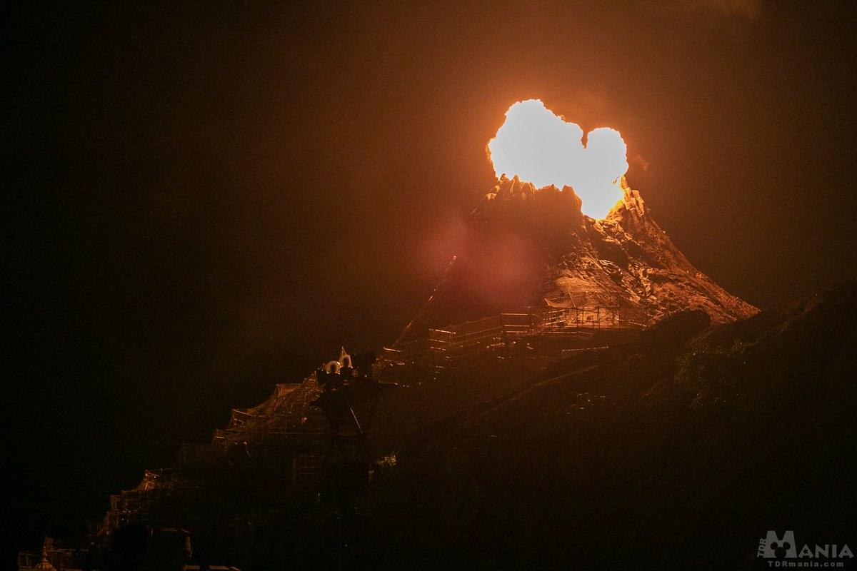 プロメテウス火山 噴火