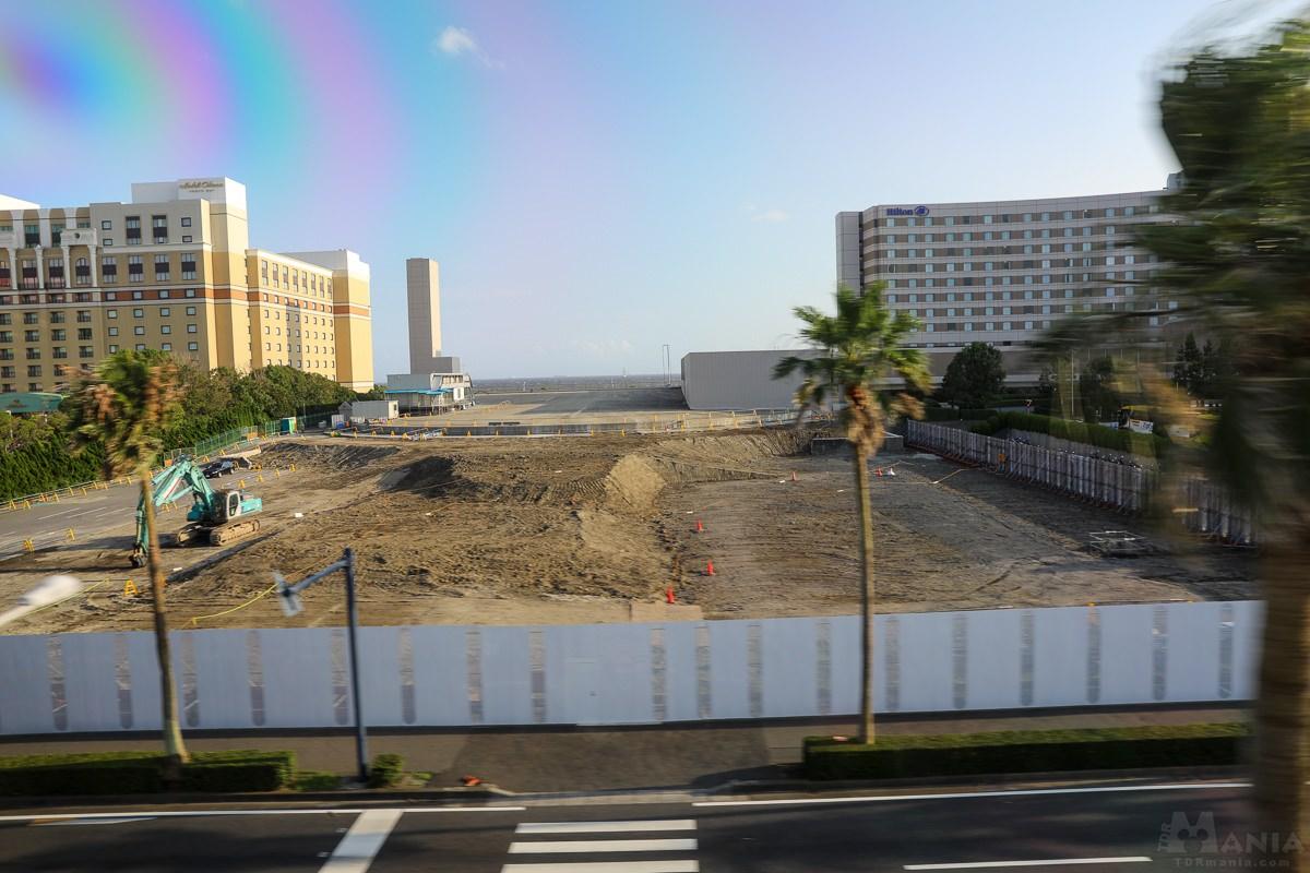 トイ・ストーリーホテル 建設予定地