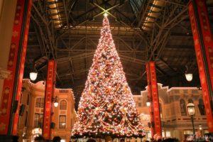 ワールドバザール クリスマスツリー