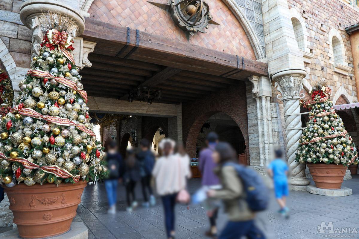 ミラコスタ通り クリスマスデコレーション