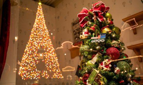 ワールドバザール クリスマス ショーウィンドウ