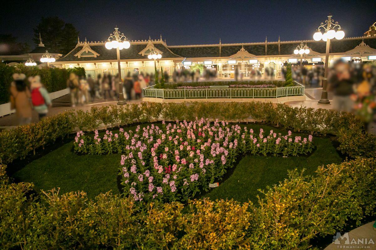 エントランス 花壇