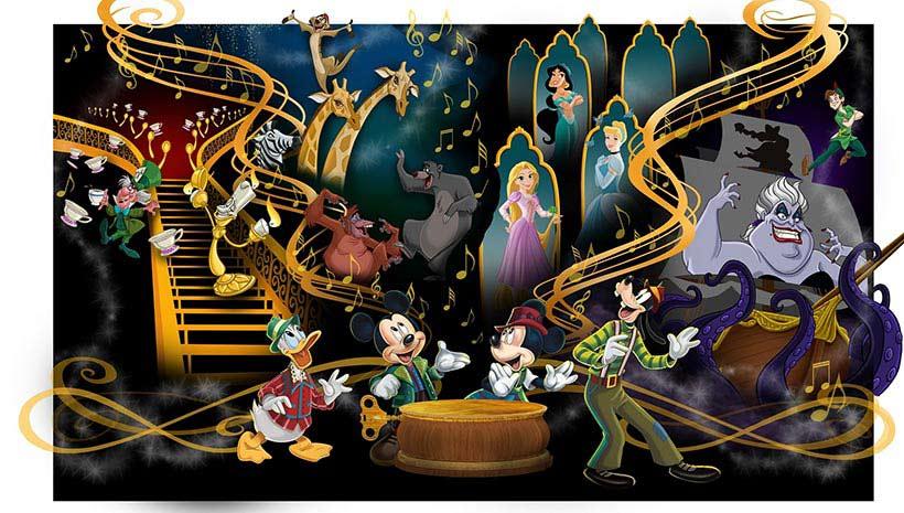 ファンタジーランド・フォレストシアター ミッキーのマジカルミュージックワールド