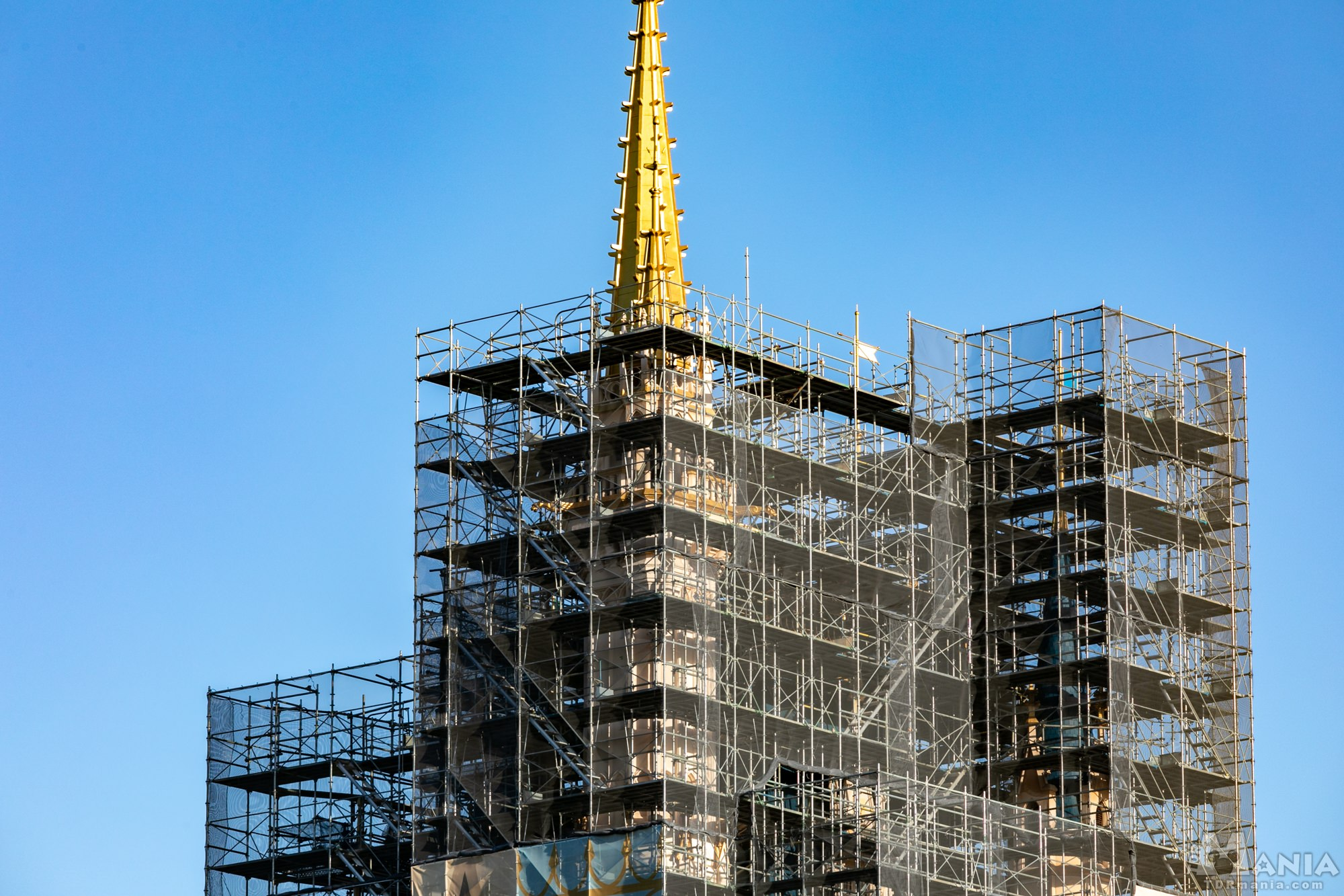 シンデレラ城 改修工事