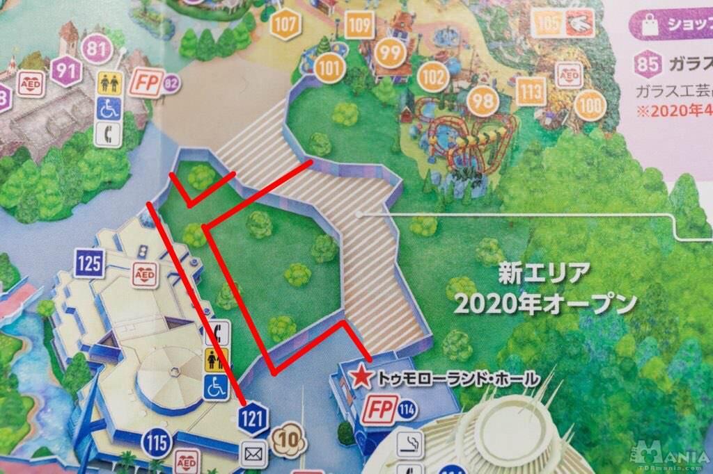 新エリア 通路 MAP